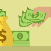 How can I adjust the budget of an ABM ad campaign once it is under way